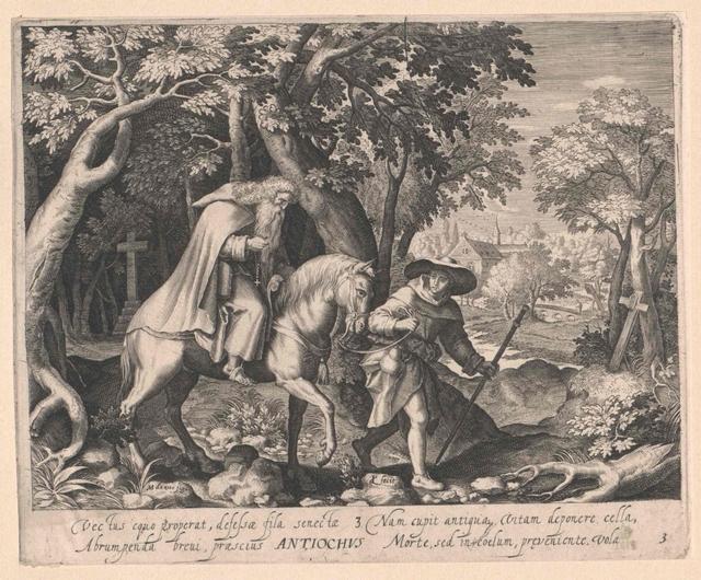 Antiochus, Heiliger