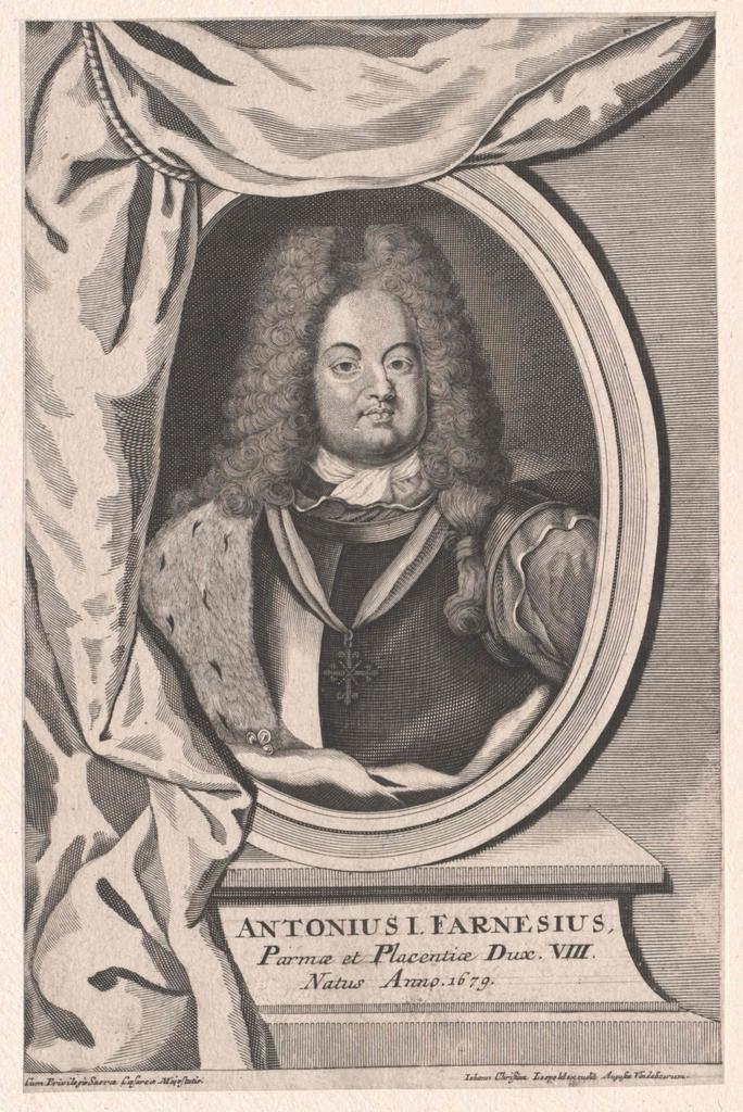 Anton Franz Farnese, Herzog von Parma