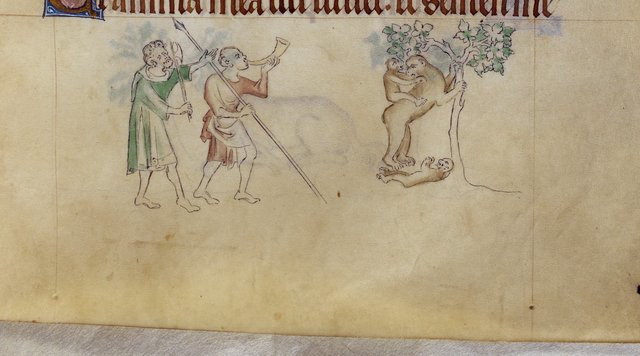 Apes from BL Royal 2 B VII, f. 108