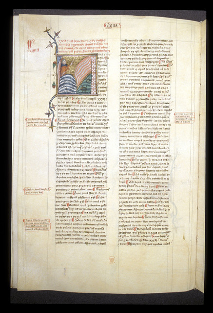 Aqua (water) from BL Royal 6 E VI, f. 125v