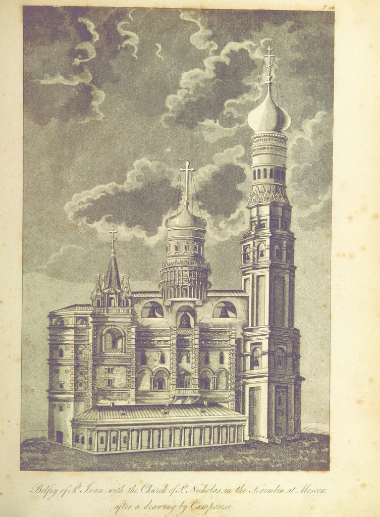 """architecture from """"Travels in Various Countries of Europe, Asia and Africa. (pt. 1. Russia, Tartary and Turkey.-pt. 2. Greece, Egypt and the Holy Land.-pt. 3. Scandinavia.) [With plates, including a portrait.]"""""""