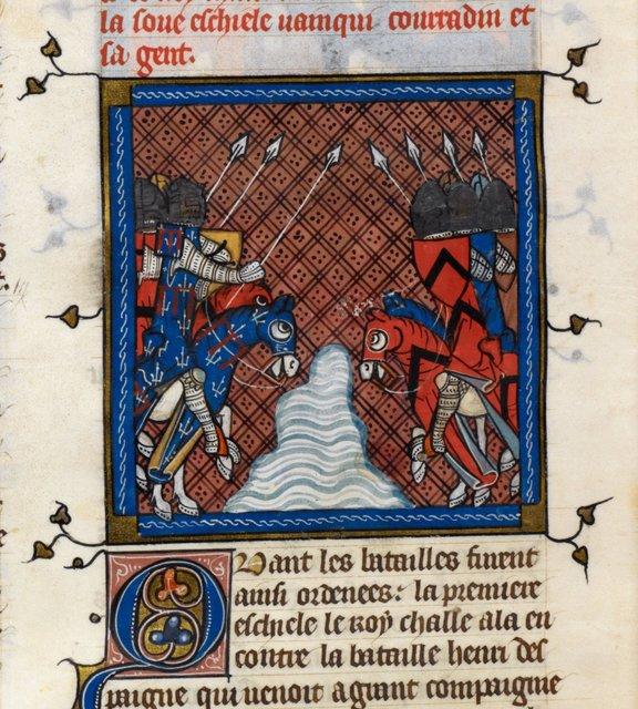 Armies from BL Royal 16 G VI, f. 433v