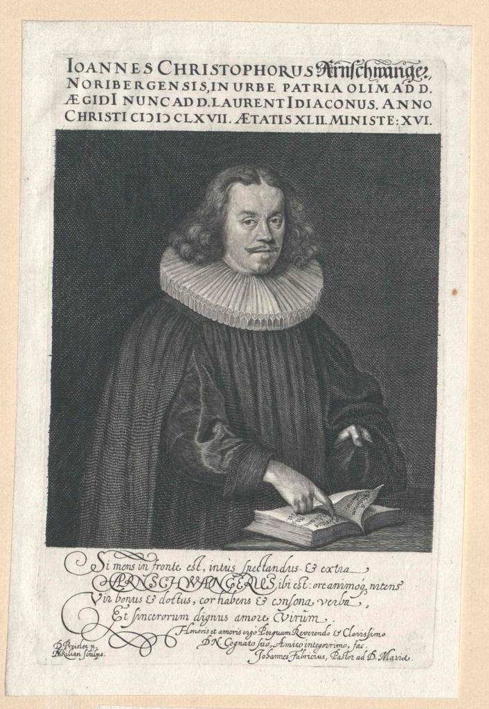 Arnschwanger, Johann Christoph