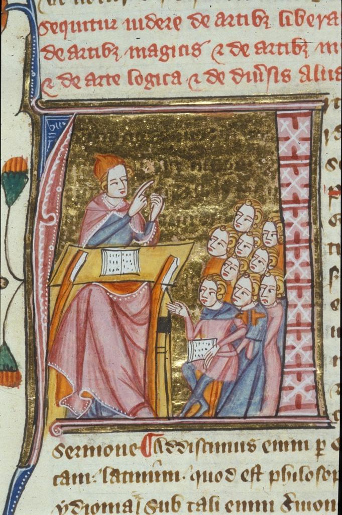 Ars sive artes (Art or Arts) from BL Royal 6 E VI, f. 138v