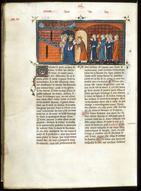 Arthur from BL Royal 16 G VI, f. 361v