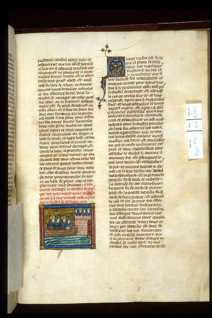 Attack on Carthage from BL Royal 19 D I, f. 213