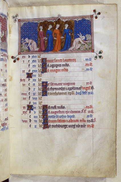 August from BL Royal 2 B VII, f. 79