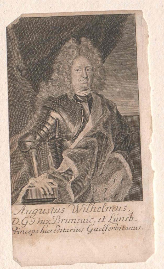August Wilhelm, Herzog von Braunschweig-Wolfenbüttel