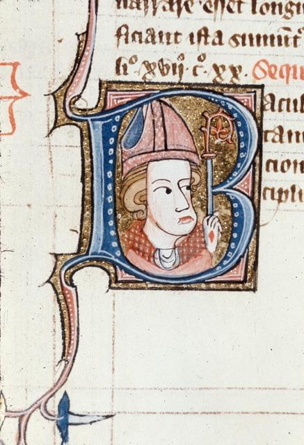 Baculus pastoralis (Pastoral staff) from BL Royal 6 E VI, f. 178v