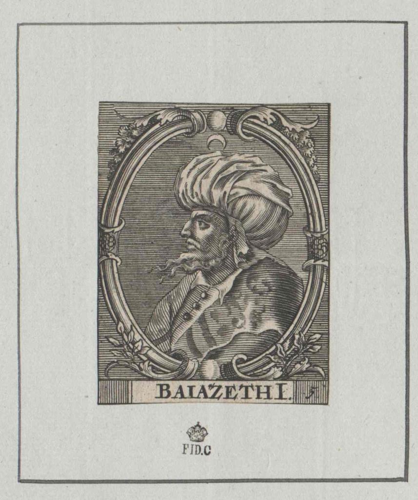 Bajazet I., Sultan der Türkei