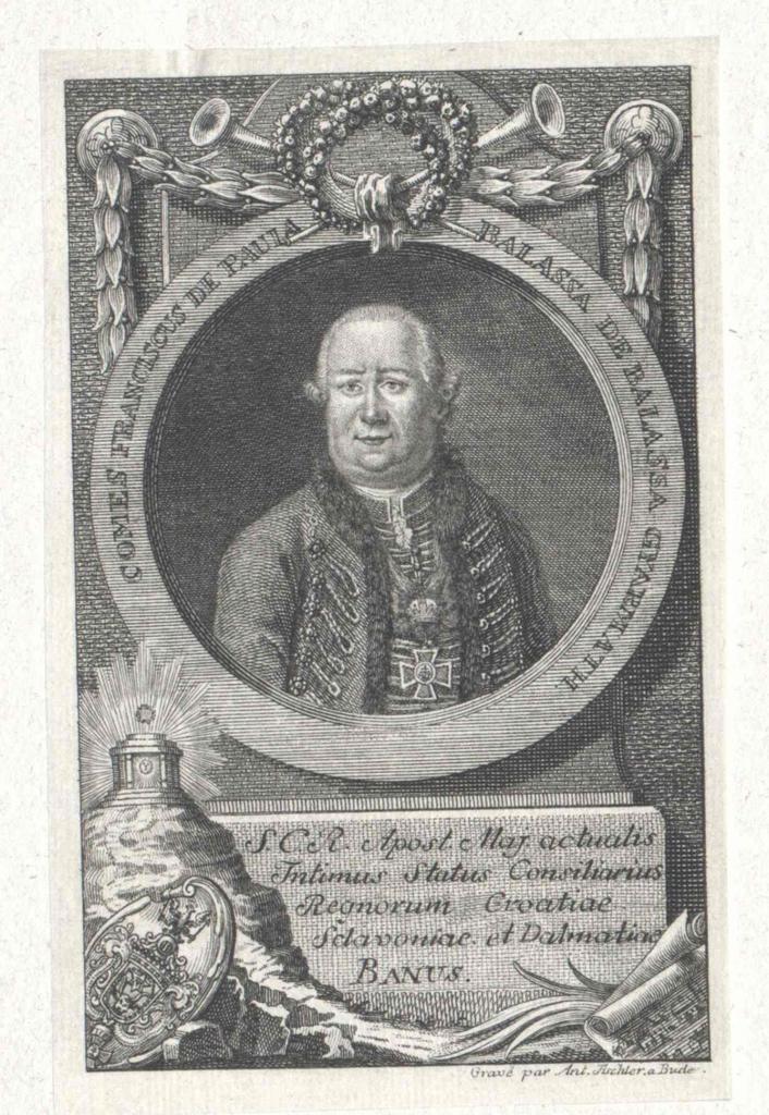 Balassa von Gyarmat, Ferenc Graf