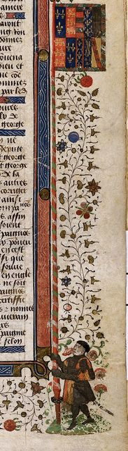 Banner from BL Royal 15 E VI, f. 439