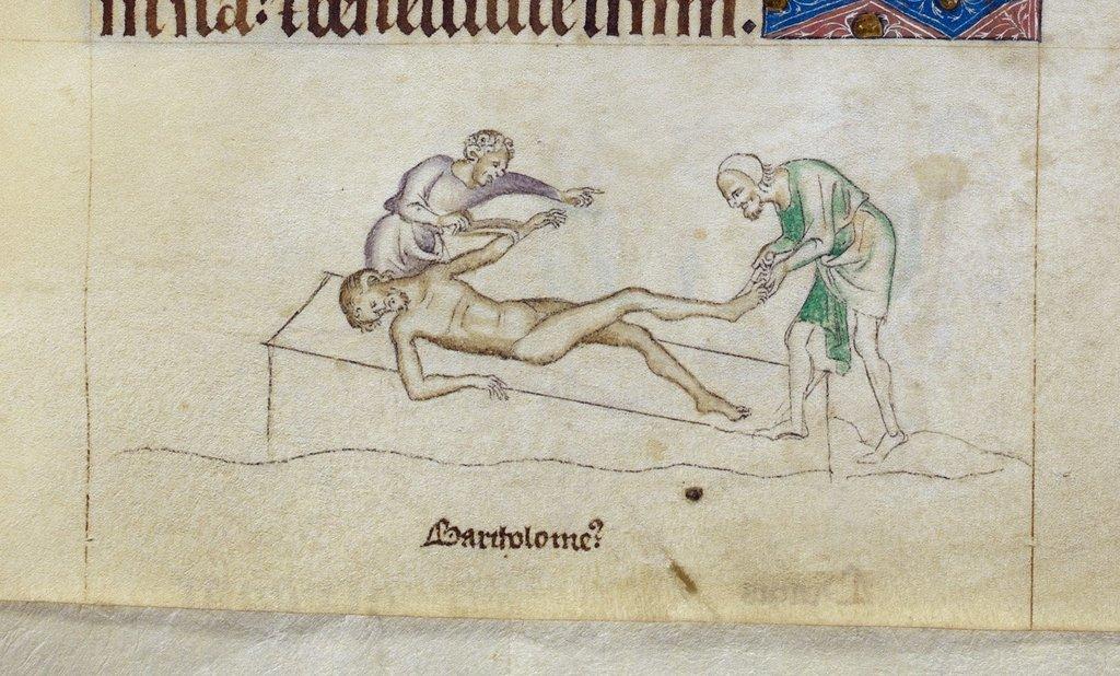 Bartholemew from BL Royal 2 B VII, f. 264
