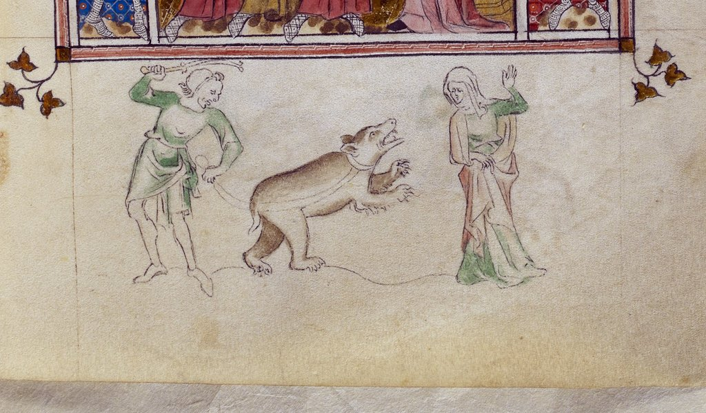 Bear from BL Royal 2 B VII, f. 131