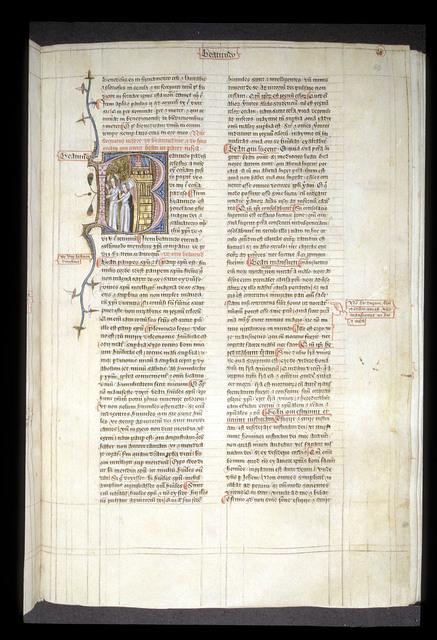 Beatitudo (Heavenly bliss) from BL Royal 6 E VI, f. 182