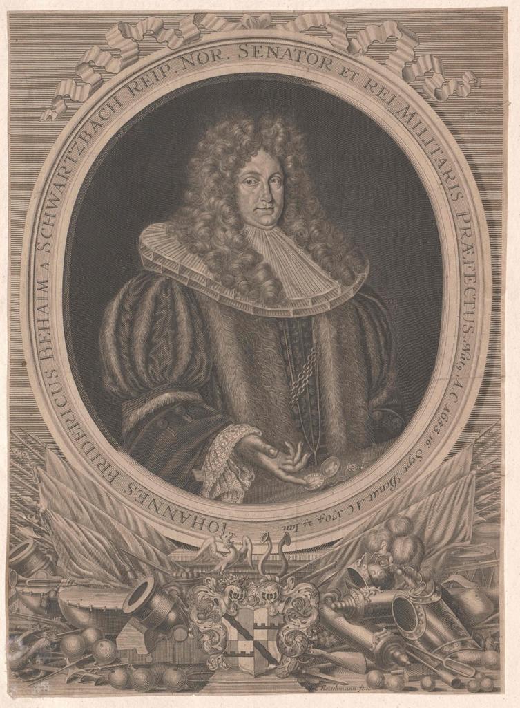 Behaim von Schwarzbach, Johann Friedrich