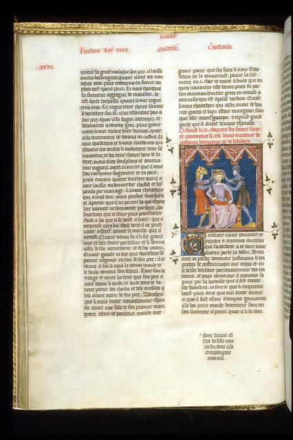 Belisarius from BL Royal 16 G VI, f. 29v