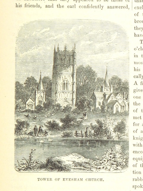 """bell tower from """"The National and Domestic History of England ... With numerous steel plates, coloured pictures, etc"""""""