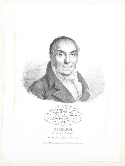 Bernardi, Joseph Elzéar Dominique