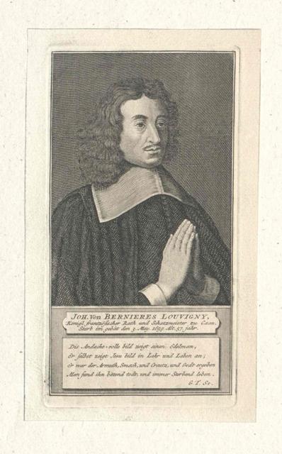 Bernières, Jean Sieur de Louvigny