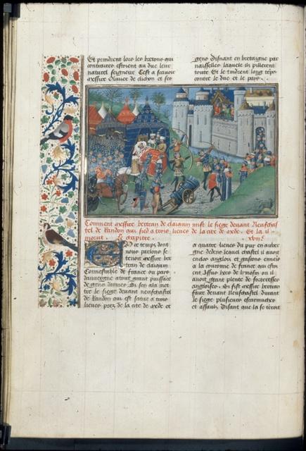Bertrand du Guesclin from BL Royal 14 E IV, f. 47v