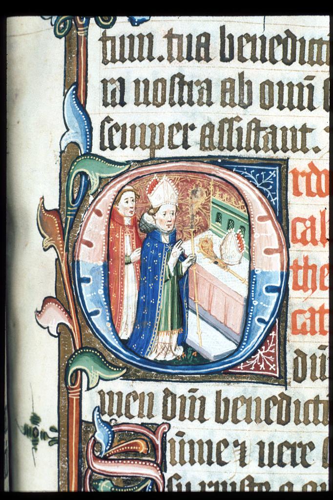 Bishop from BL Lansdowne 451, f. 176