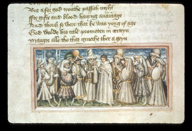 Bishop Kunbertus from BL Harley 2278, f. 29v