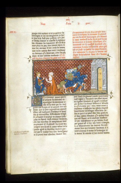 Bishop of Clermont from BL Royal 16 G VI, f. 304v
