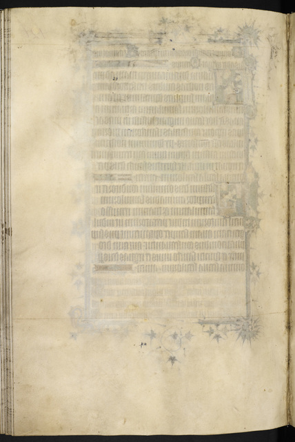 Blank page from BL Eg 3277, f. 132v