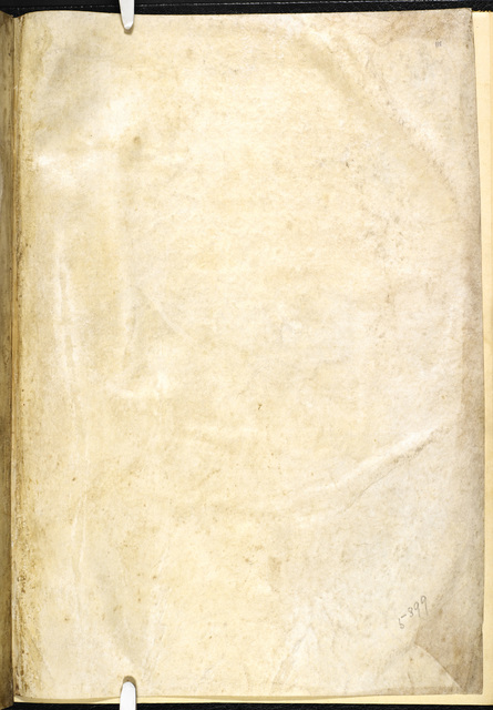 Blank page from BL Eg 3277, f. iii