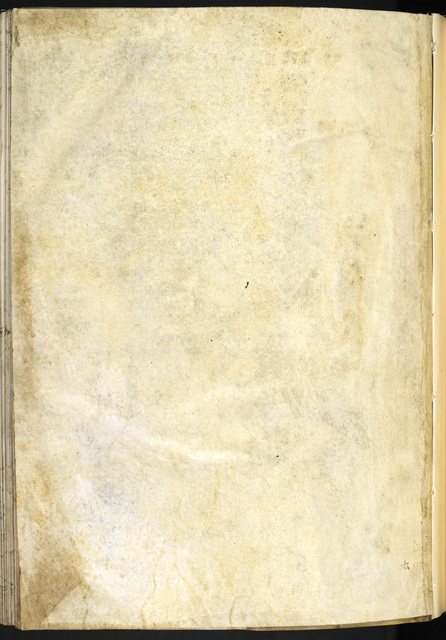 Blank page from BL Eg 3277, f. iiiv