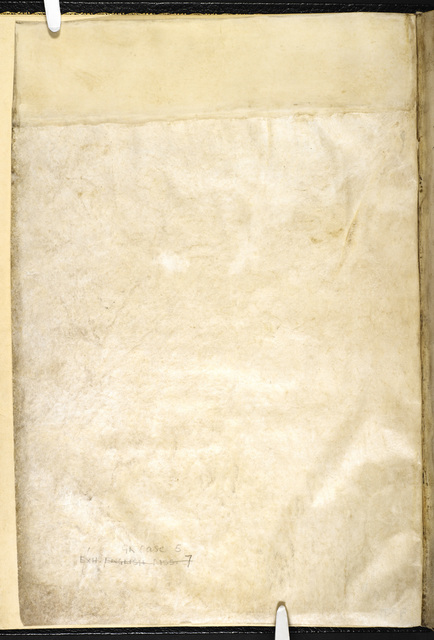 Blank page from BL Eg 3277, f. iiv