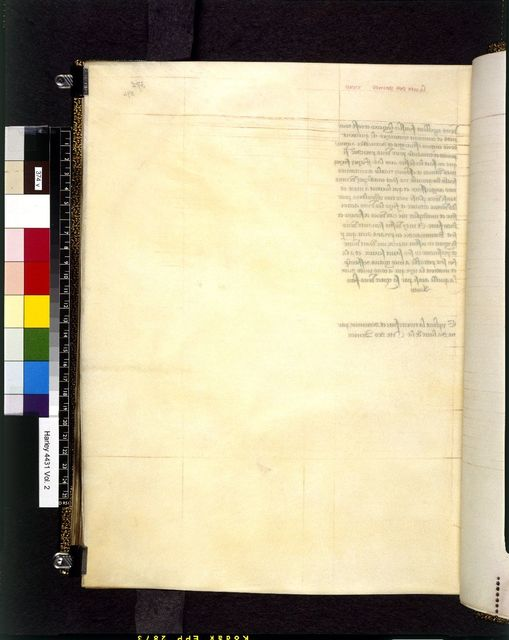 Blank page from BL Harley 4431, f. 374v