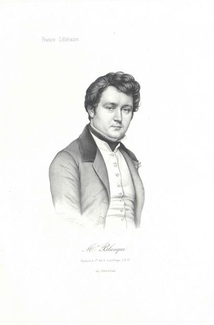 Blanqui, Adolphe Jérome