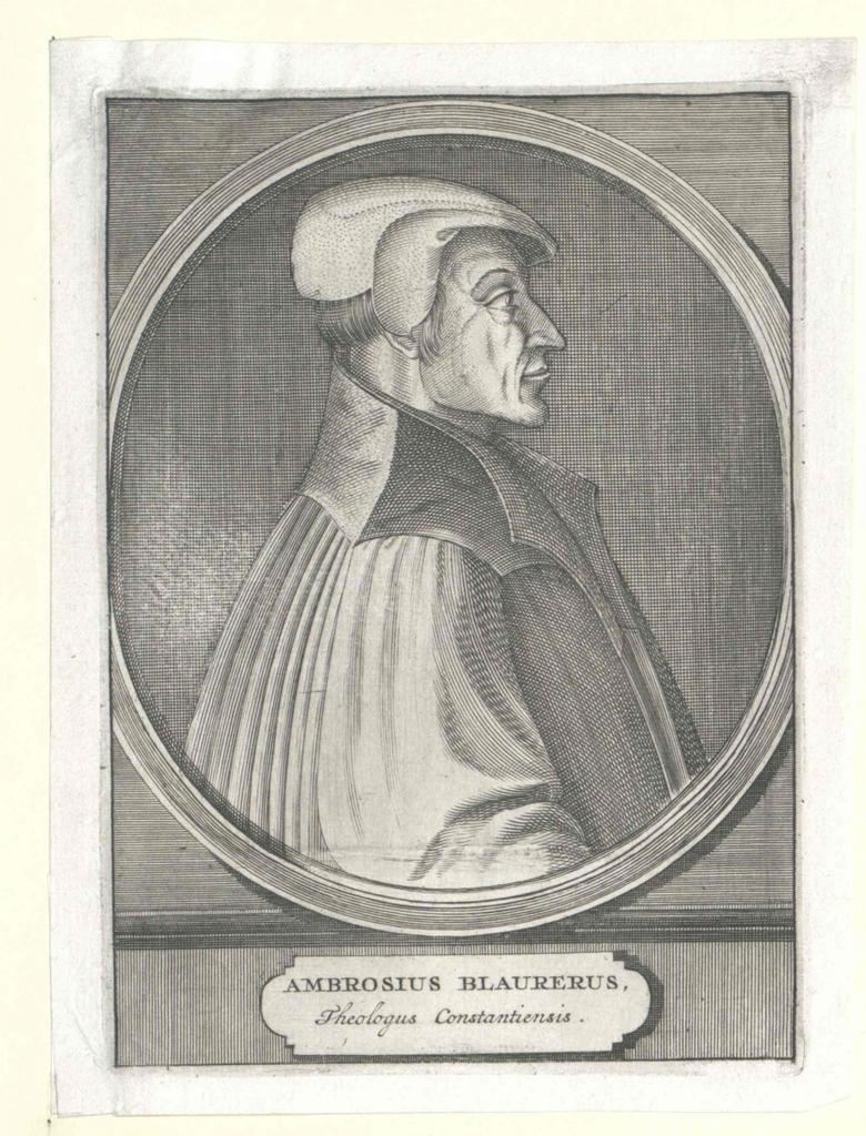 Blarer von Giersberg, Ambrosius