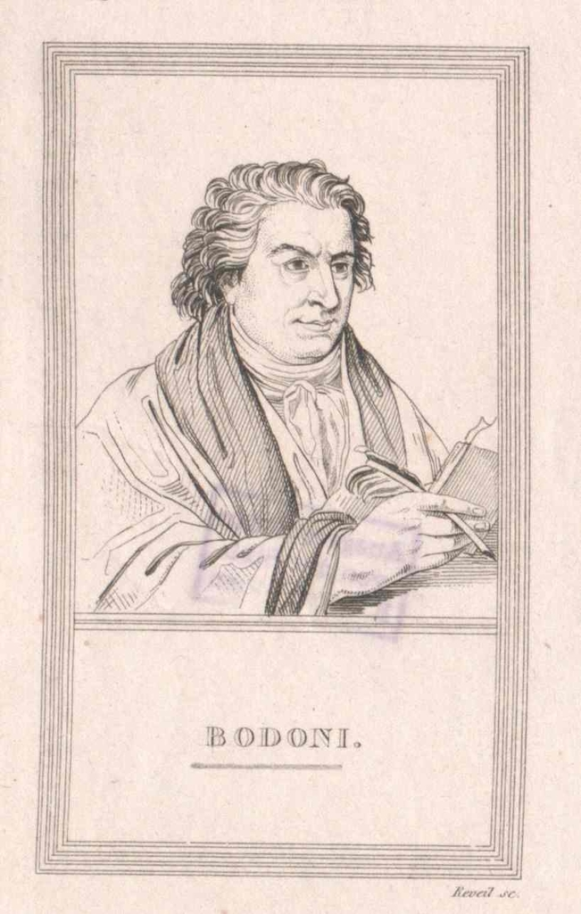 Bodoni, Giambattista
