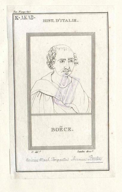 Boethius, Anicius Manlius Severinus