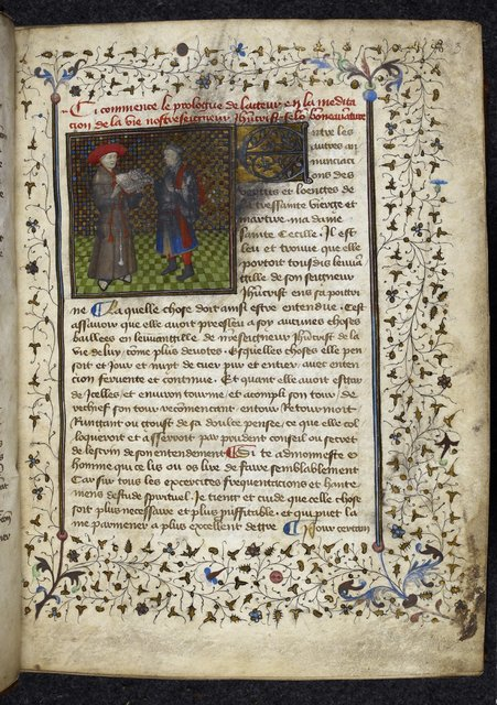 Bonaventura from BL Royal 20 B IV, f. 3