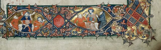 Border from BL Royal 10 E IV, f. 3
