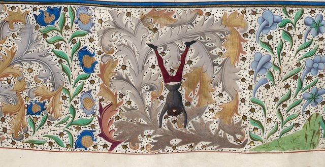 Border from BL Royal 15 D IV, f. 38