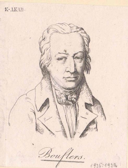 Boufflers, Stanislas Jean Marquis de