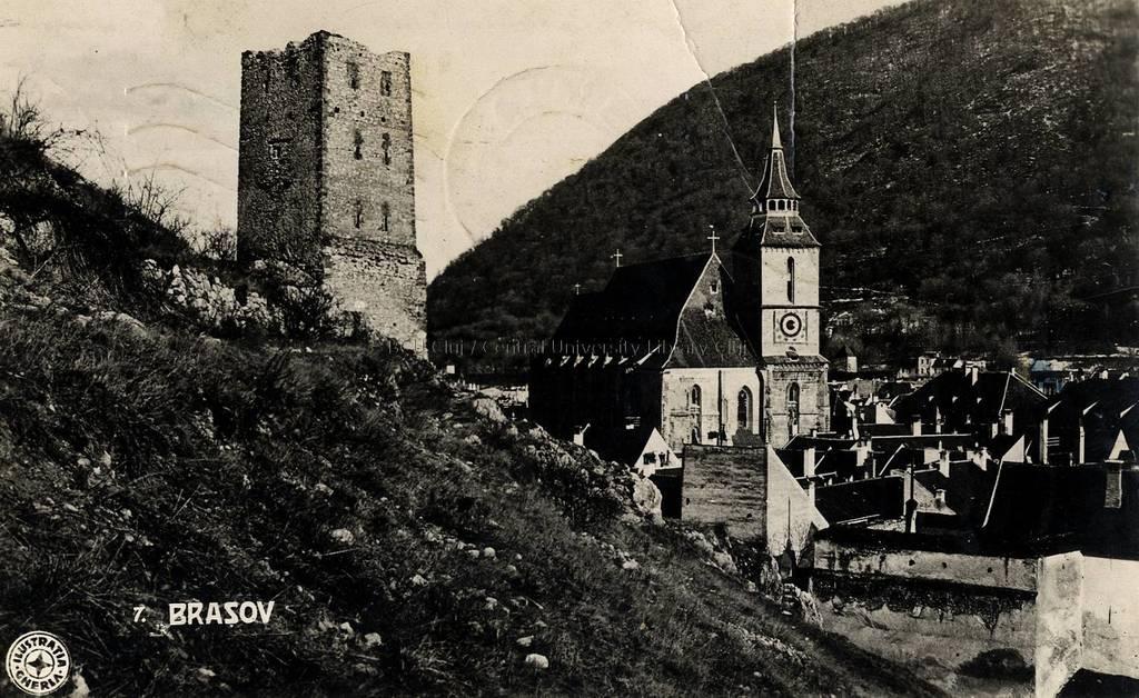 Braşov : [Turnul Negru şi Biserica Neagră] [material iconografic ...