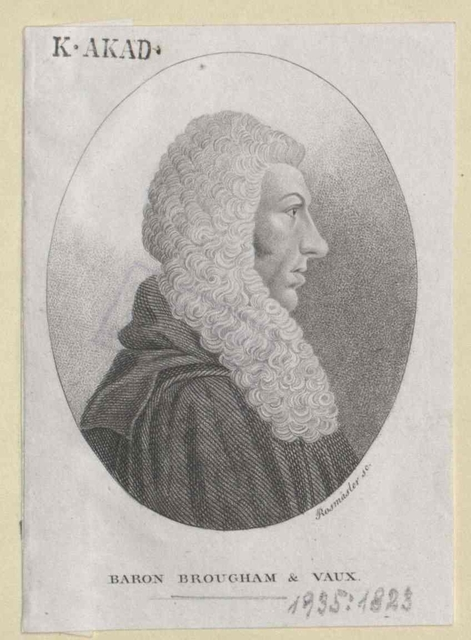 Brougham and Vaux, Henry Lord