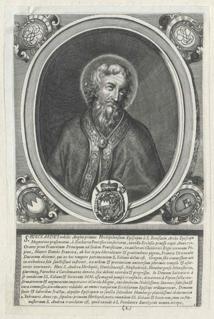 Burkhard I., Bischof von Würzburg, Heiliger