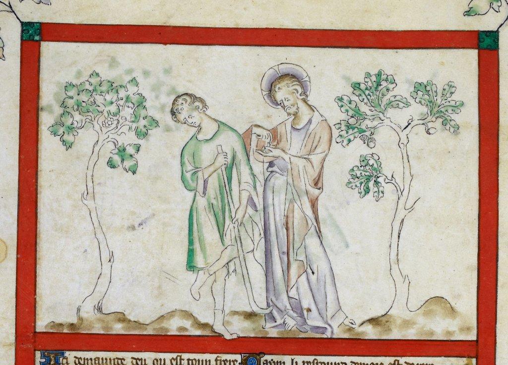 Cain from BL Royal 2 B VII, f. 5v