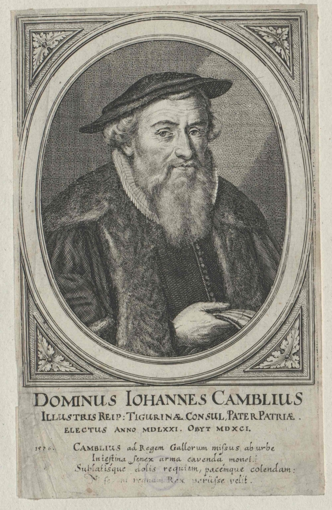 Camblius, Johann