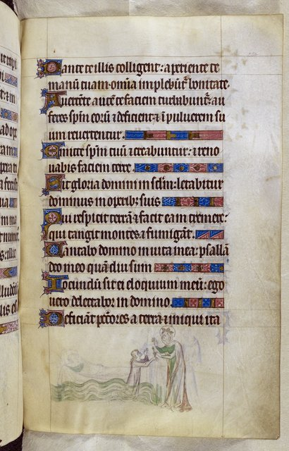 Candle from BL Royal 2 B VII, f. 220