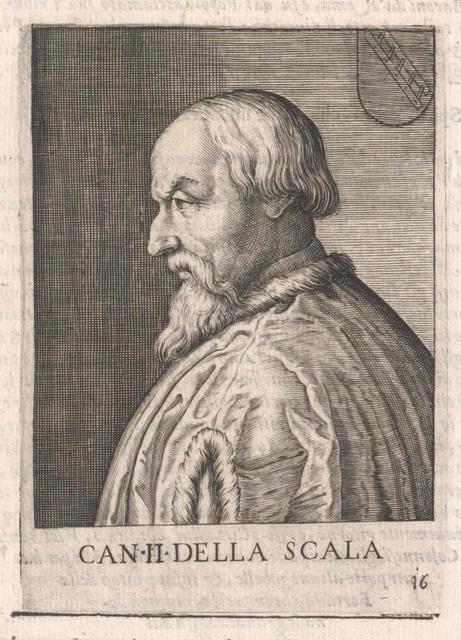 Cangrande II della Scala, Herr von Verona und Vicenza