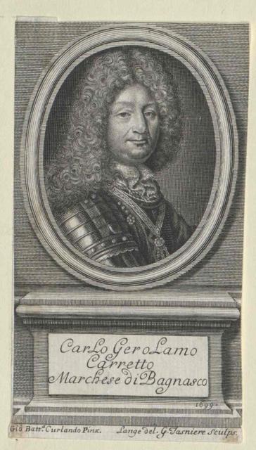 Carretto, Carlo Gerolamo Marchese di Bagnasco