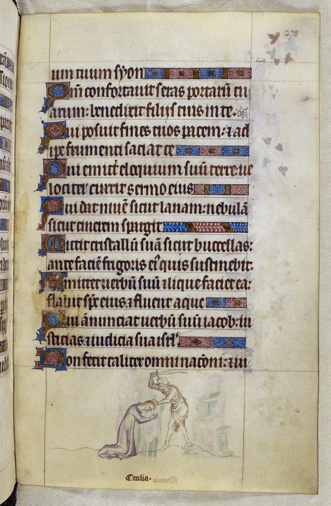 Cecilia from BL Royal 2 B VII, f. 278